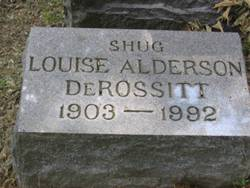 Louise Ada <i>Alderson</i> DeRossitt