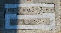 Frederick C Fred Danz