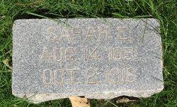 Sarah Elizabeth <i>Carter</i> Baum