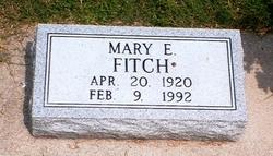 Mary E. <i>Hopkins</i> Fitch
