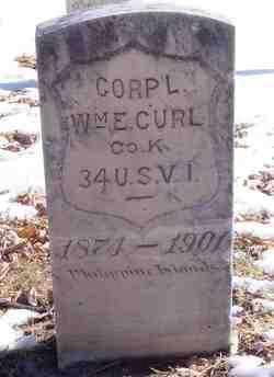 Corp William E. Curl