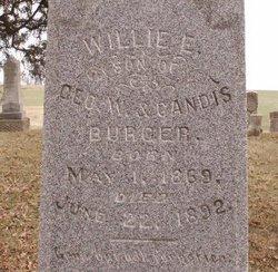Willie E. Burger