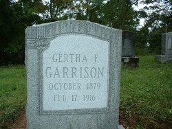 Gertha Frances <i>Taylor</i> Garrison