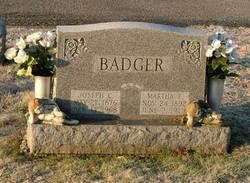 Martha E Badger