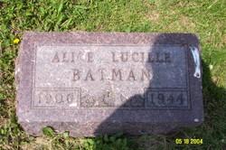Alice Lucille Batman