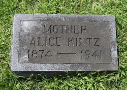 Alice L <i>Brewer</i> Kintz