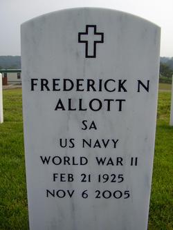 Frederick Nordan Fred Allott, Sr