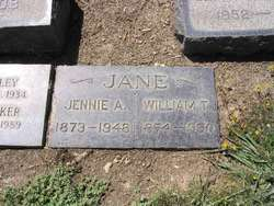 Jennie Adelia <i>Davisson</i> Jane