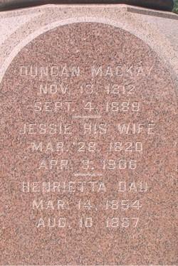 Henrietta MacKay