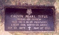 Calvin Pearl Titus