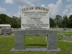 Clear Springs Community Cemetery