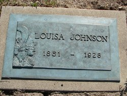Louisa Jane Sophia <i>Giles</i> Johnson