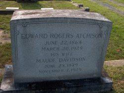 Maude <i>Davidson</i> Atchison