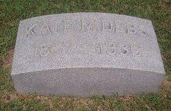 Kate <i>Metzel</i> Debs
