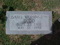 Isabel <i>Washington</i> Dodd