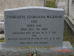 Charlotte Georgiana <i>Wickham</i> Lee