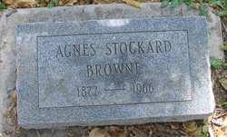Agnes <i>Stockard</i> Browne