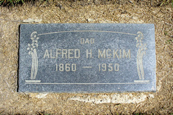 Alfred Hiram McKim
