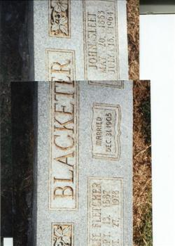Lillie Belle <i>Fletcher</i> Blacketer