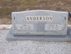 Olive <i>Williams</i> Anderson