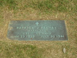Patrick Joseph CT2c, U.S.N Feeney
