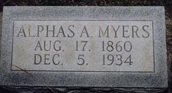 Alphas Alonzo Myers
