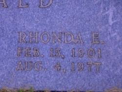 Rhonda Elaine Oswald