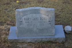 Mary Jane <i>Daniel</i> Bobo