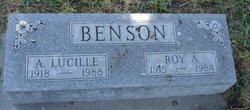 A Lucille <i>Landis</i> Benson