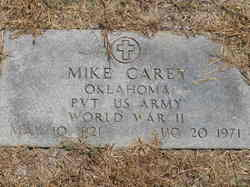 Pvt Mike Carey