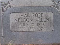 Mae Pope Nelson Allen