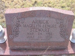 Magelyn Lenore <i>Stewart</i> Arrick