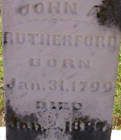 John Alfred Rutherford