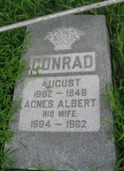 Agnes <i>Albert</i> Conrad
