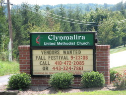 Clynmalira United Methodist Church Cemetery