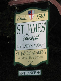 Saint James of My Ladys Manor Cemetery