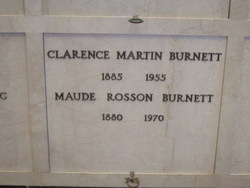 Maude Rosson Burnett