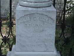 Julia <i>Dalzell</i> Browne