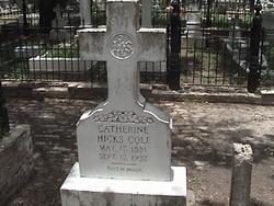 Catherine <i>Hicks</i> Cole