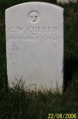 Lieut George Washington Culver