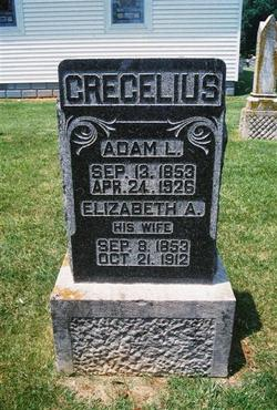 Elizabeth Ann <i>Cole</i> Crecelius