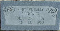 Ruby L. <i>Plumley</i> Afinowicz