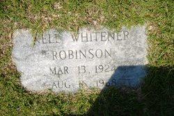 Nell <i>Whitener</i> Robinson