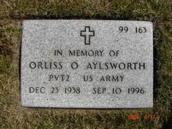 Pvt Orliss O Aylsworth