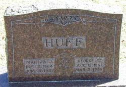 Martha J <i>Johnson</i> Huff