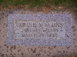 Goldie Alberta <i>Patterson</i> Kuhns