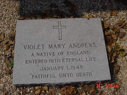 Violet Mary Andrews