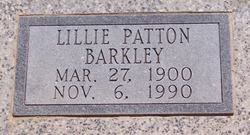 Lillie Leander <i>Patton</i> Barkley