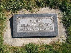 Hulda <i>Pearson</i> Peterson