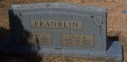 Billie Inez <i>Fuqua</i> Franklin